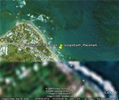 Vecinos beach location at Cabarete