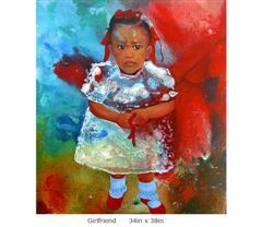 Lyonel Jean's Girlfriend painting
