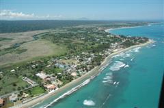 Vecinos Beach aerial