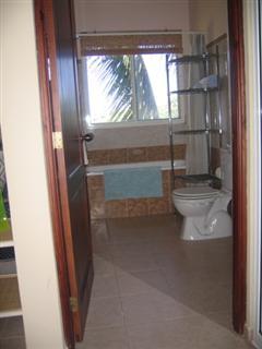 Mezzanine bathroom off bedroom