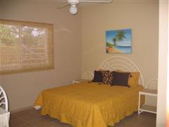 Queen sized bed in 12 x 13 bedroom