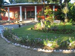Reception hall front view