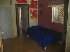 Prairie Room door exit to hall bathroom and front bedroom