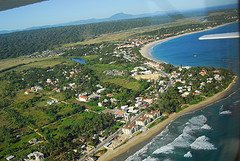 aerial view of Cabarete beach