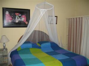 Prairie Room king-sized bed