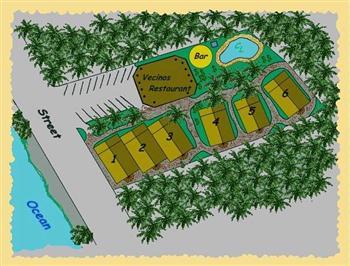 Vecinos site plan