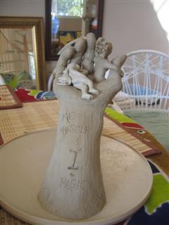Me, Myself  + I n Magic sculpture