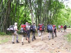 Northern Thailand trekking