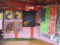 My paintings on exhibit