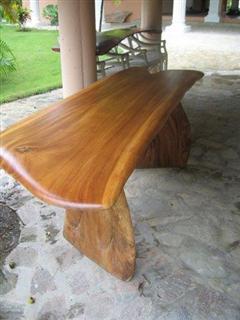 saman table 1 pce slab top