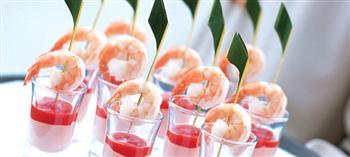 Shrimp hors douvres